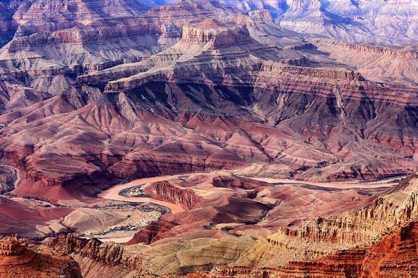 Colorado River And Grand Canyon Art Print