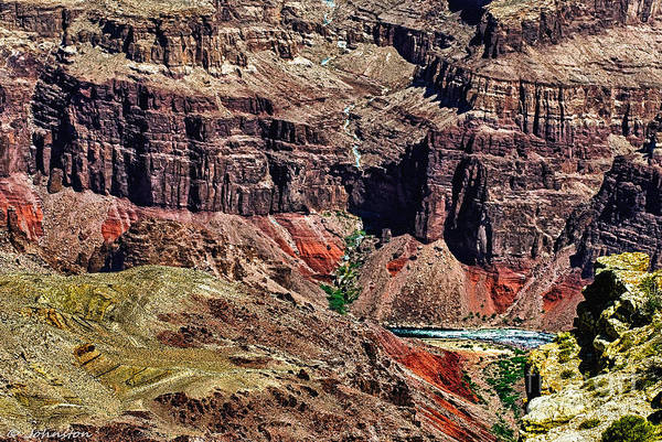Photograph - Colorado River In The Grand Canyon High Water by Bob and Nadine Johnston