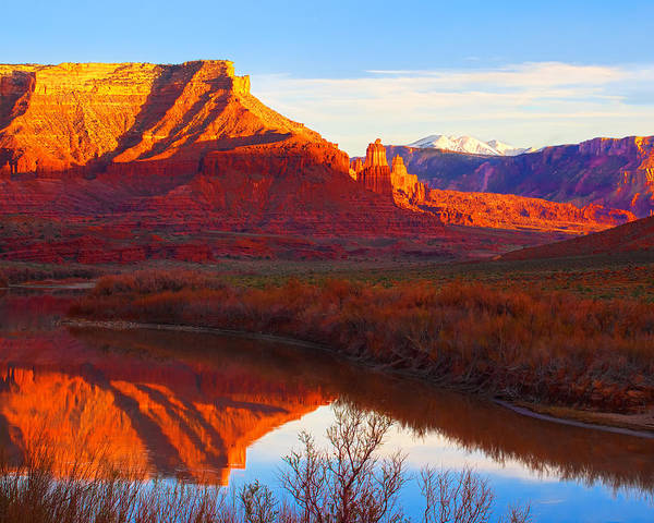 Colorado River Reflections Art Print