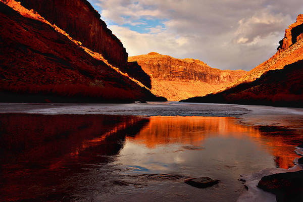 Photograph - Colorado River Reflections by Theo OConnor