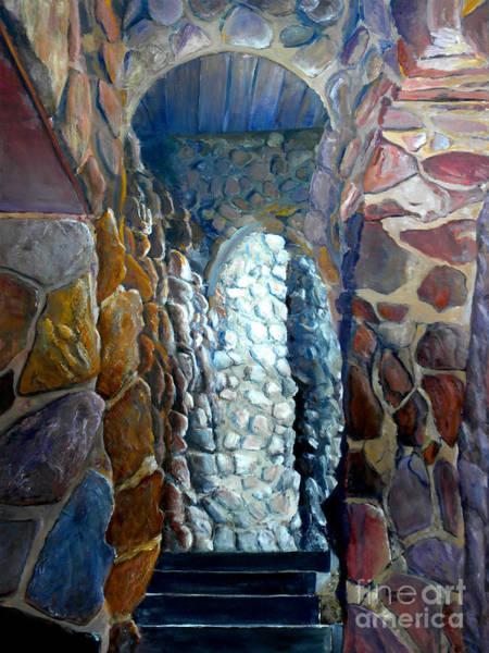 Painting - Colorado Rock Castle  by Lenora  De Lude