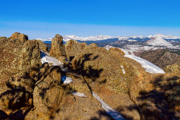 Photograph - Colorado Rocky Mountain Scenic View by James BO Insogna