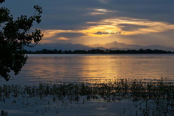 Photograph - Colorado Rocky Mountain Sunset by Cascade Colors