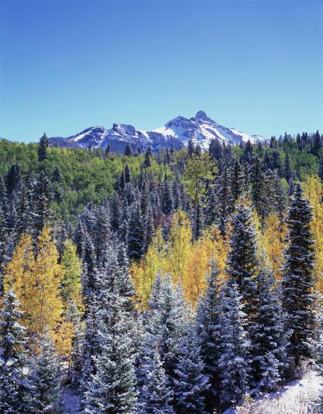 Backcountry Wall Art - Photograph - Colorado, San Juan Mountains, First by Christopher Talbot Frank
