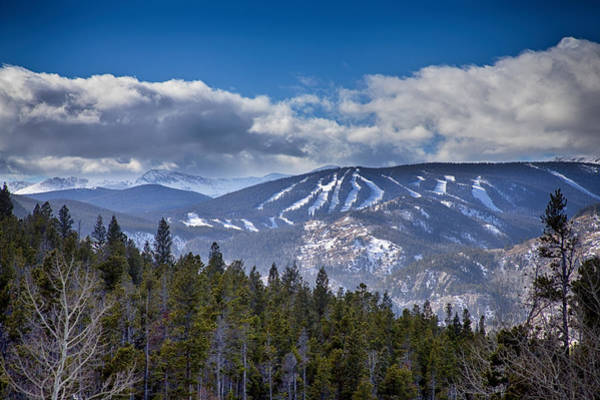 Photograph - Colorado Ski Slopes by James BO Insogna