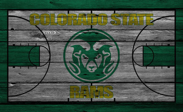 State College Photograph - Colorado State Rams by Joe Hamilton