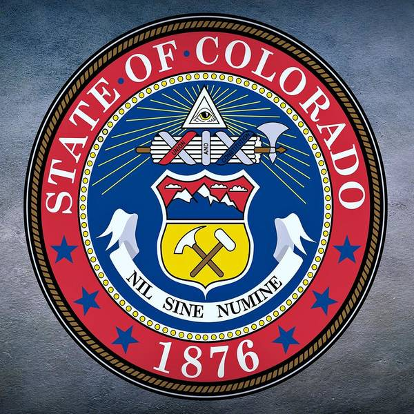 Digital Art - Colorado State Seal by Movie Poster Prints