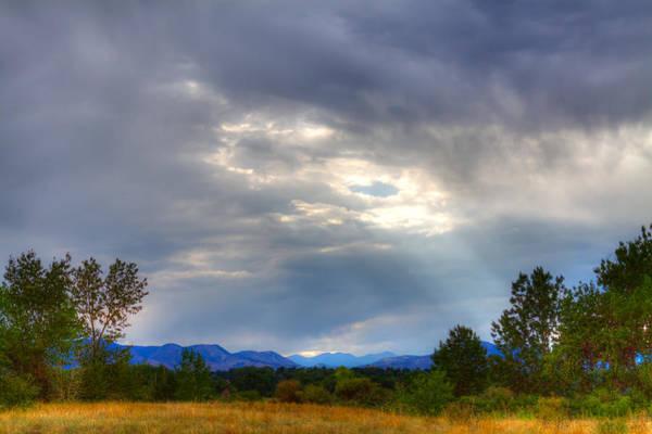 Photograph - Colorado Sunbeams by David Patterson