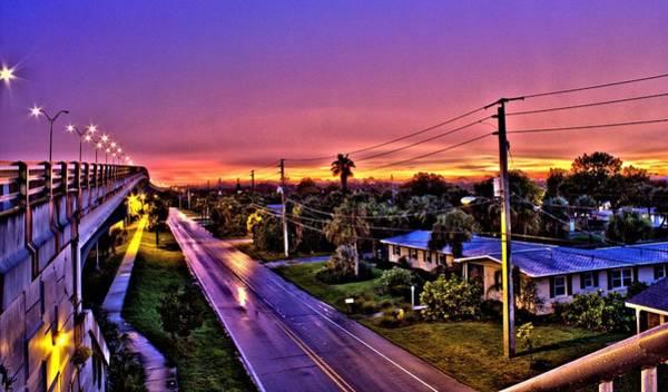 Photograph - Colored Bridge by Tyson Kinnison