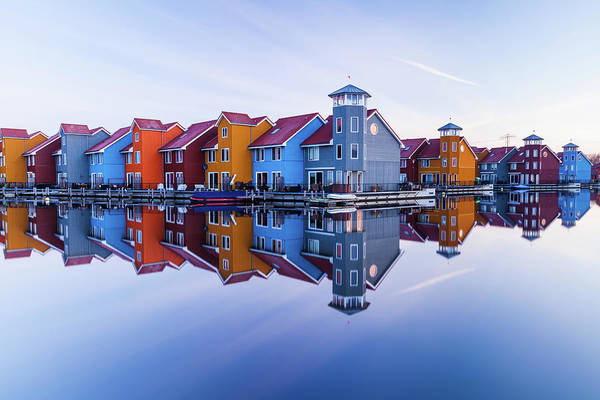 Wall Art - Photograph - Colored Homes by Ton Drijfhamer