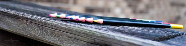 Wall Art - Photograph - Colored Pencils by Mechala Matthews