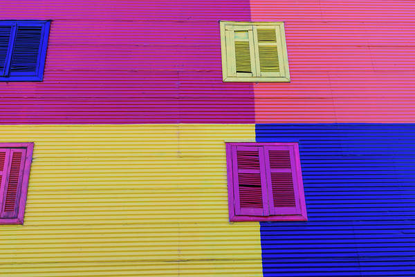 Arrival Photograph - Colorful Area In La Boca Neighborhoods by Mariusz prusaczyk