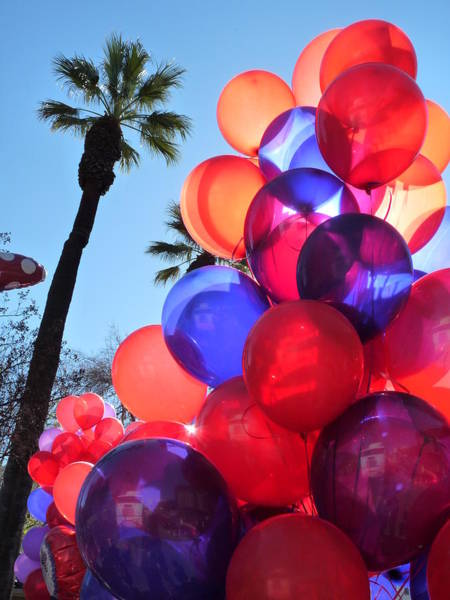 Photograph - Colorful Balloons  by Jeff Lowe