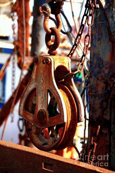 Photograph - Colorful Boat Pully by Carol Groenen