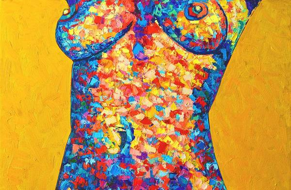 Painting - Colorful Bodyscape 1 by Ana Maria Edulescu
