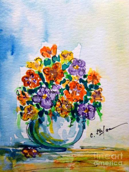 Painting - Colorful Bouquet by Cristina Stefan