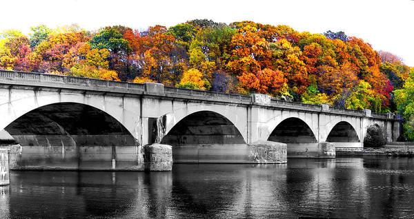 Photograph - Colorful Bridge by Alice Gipson