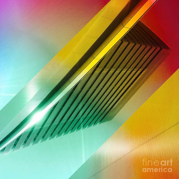 Photograph - Colorful Building In The City by Beverly Claire Kaiya
