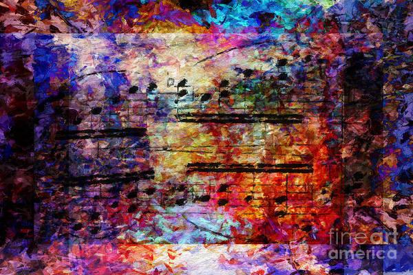 Digital Art - Colorful Cadential Confetti by Lon Chaffin