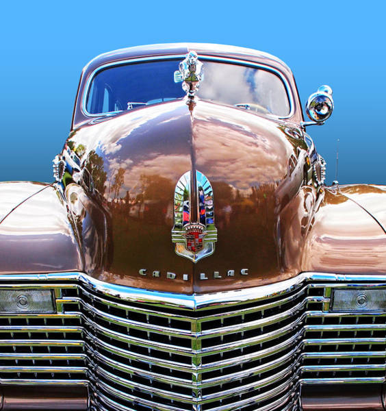 Photograph - Colorful Cadillac by Gill Billington