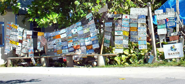 Photograph - Colorful Car Tags On Harbour Island by Duane McCullough