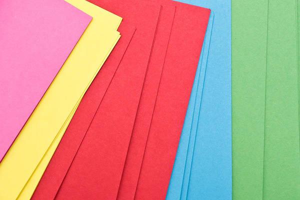 Abundant Wall Art - Photograph - Colorful Cards by Tom Gowanlock
