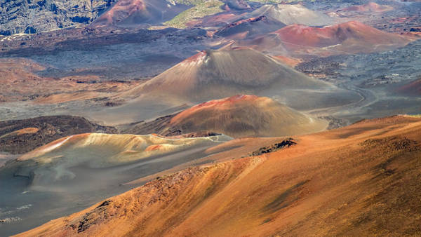 Photograph - Colorful Cinder Cones In Haleakala  by Pierre Leclerc Photography