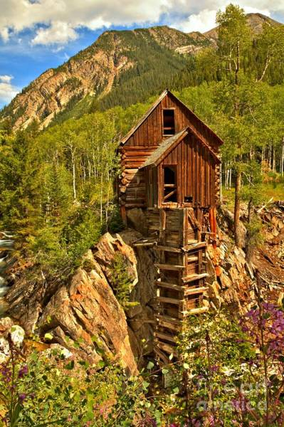 Photograph - Colorful Crystal Mill by Adam Jewell