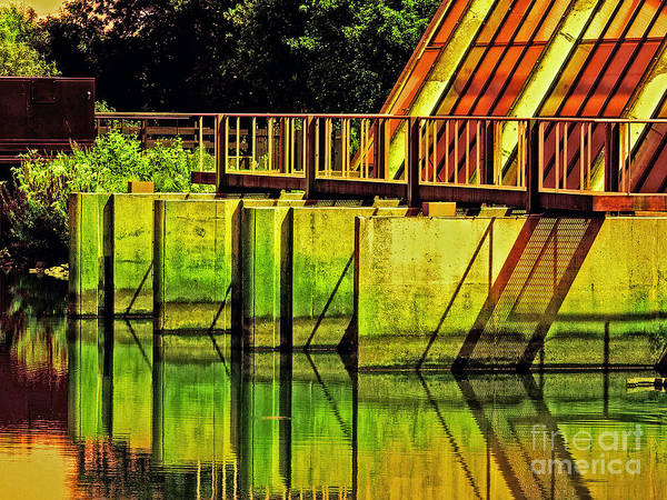 Photograph - Colorful Dam by Nick  Biemans