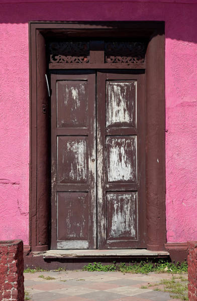 Indigenous People Photograph - Colorful Doors In Central America by Anknet