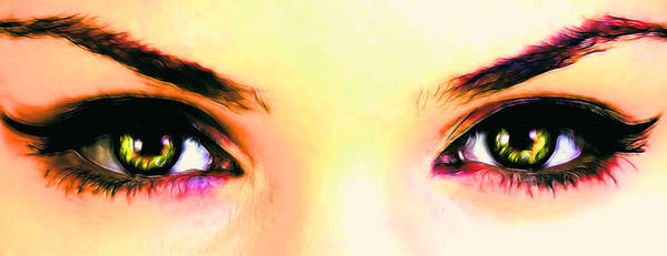 Photograph - Colorful Eyes by Sotiris Filippou