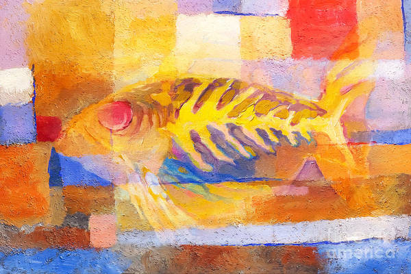Painting - Colorful Fish by Lutz Baar