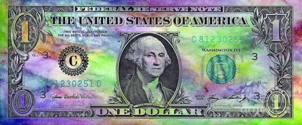 One Dollar Photograph - Colorful George by Jon Neidert