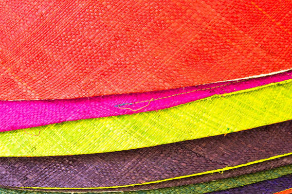 Weaving Photograph - Colorful Hats by Tom Gowanlock