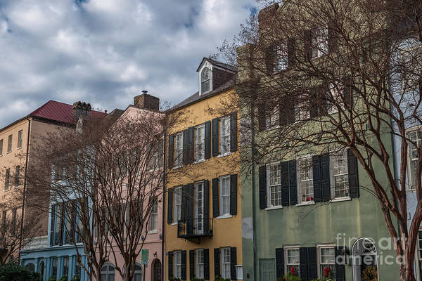 Photograph - Colorful Homes Of Charleston by Dale Powell