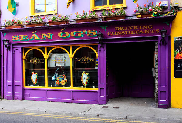 Photograph - Colorful Irish Pub by Aidan Moran