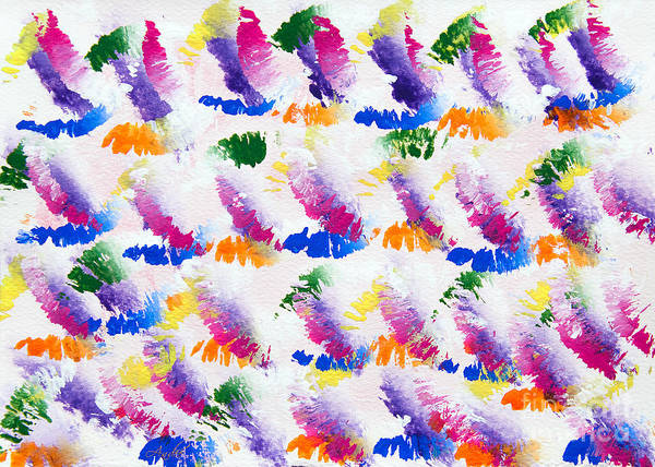 Painting - Colorful Kisses by Andee Design