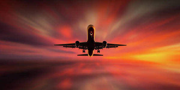 Blur Wall Art - Photograph - Colorful Landing. by Leif L?ndal