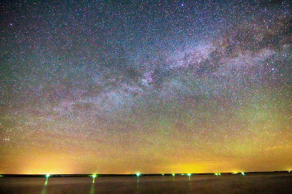 Photograph - Colorful Milky Way Night by James BO Insogna