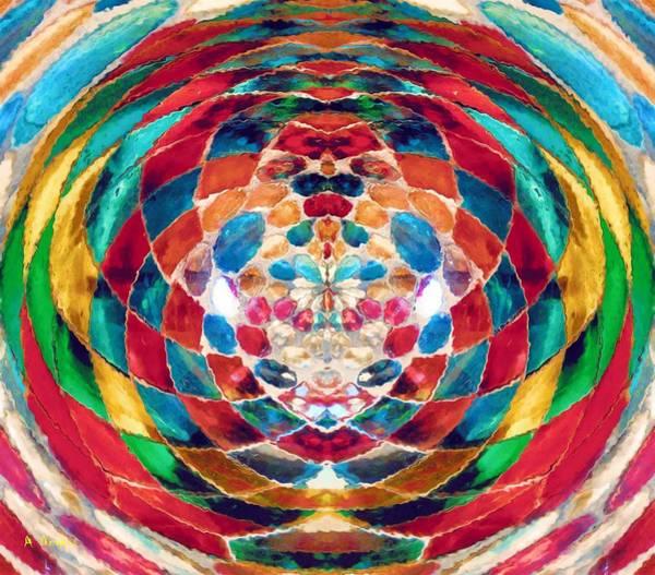 Digital Art - Colorful Mosaic by Alec Drake