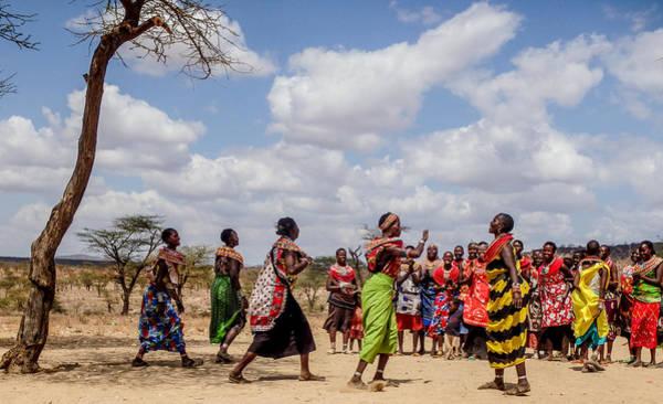 Photograph - Colorful Samburu Ladies by Jim DeLillo