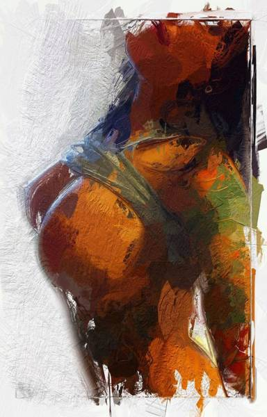 Lingery Wall Art - Painting - Colorful Seduction by Steve K