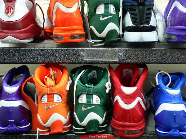 Photograph - Colorful Shoes by Jeff Lowe
