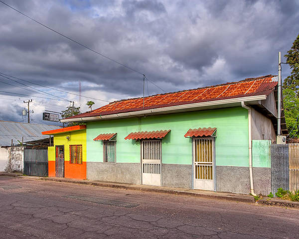 Photograph - Colorful Streets Of Costa Rica - Liberia by Mark Tisdale