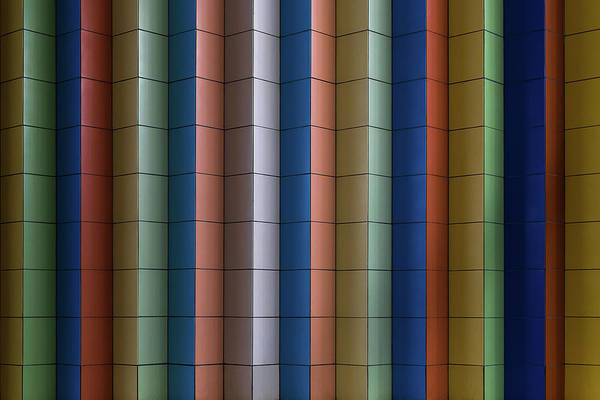 Colours Photograph - Colorful Stripes by Rolf Endermann