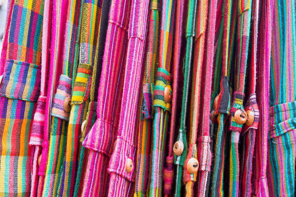 Closeup Wall Art - Photograph - Colorful Trousers by Tom Gowanlock