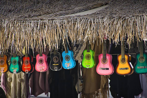 Photograph - Colorful Ukulele Guitars For Sale In San Diego by Randall Nyhof
