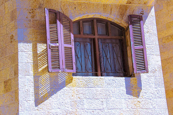 Photograph - Colorful Window Shutters by Ben and Raisa Gertsberg