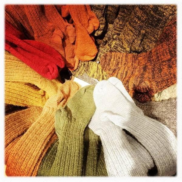 Wall Art - Photograph - Colorful Woolen Socks by Matthias Hauser