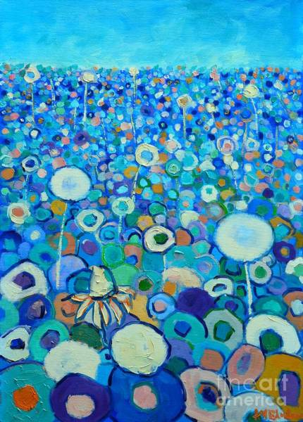 Wall Art - Painting - Colors Field In My Dream by Ana Maria Edulescu